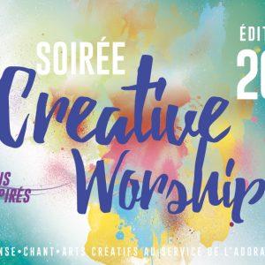 PROCHAINE SOIREE CREATIVE WORKSHIP !  20 février à 19h30