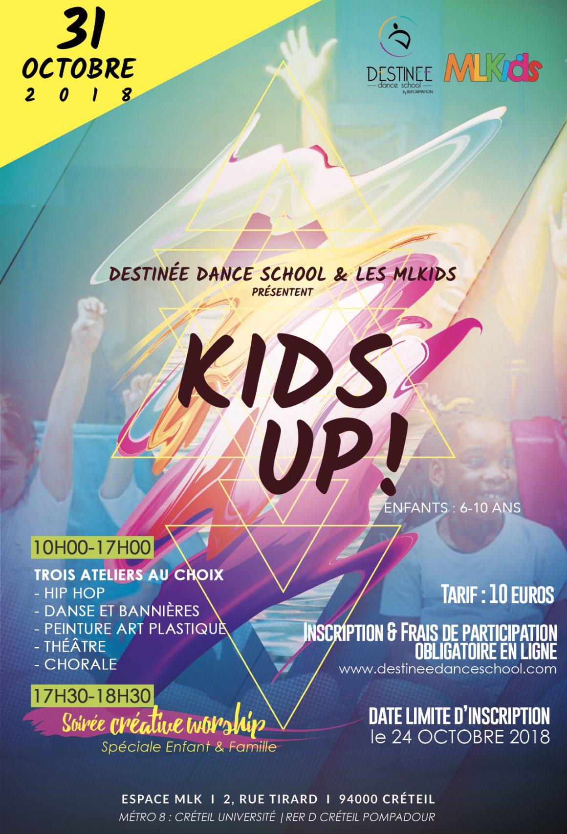 Inscription Kids Up 2 édition, c'est parti!