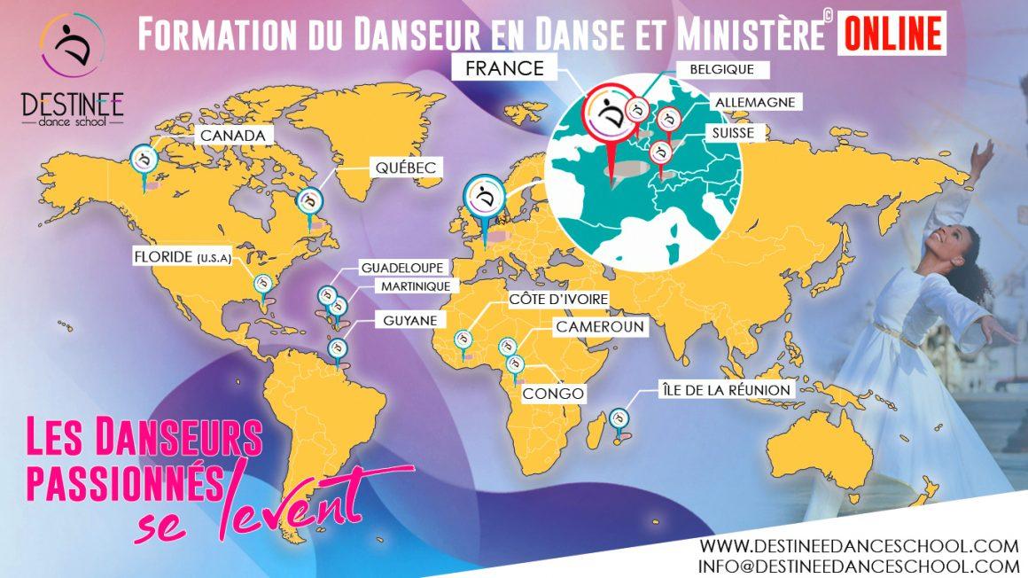 A VOUS TOUS QUI VOUS FORMEZ DANS LES NATIONS ! EXCELLENTE RENTRÉE ET BIENVENUE À DESTINÉE DANCE SCHOOL ONLINE 🗺️🌏