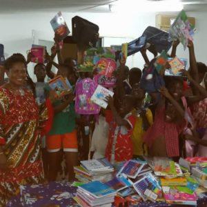 Rentrée des classes à la Maison de Sarah à Abidjan ! Merci Destinée Dance School !