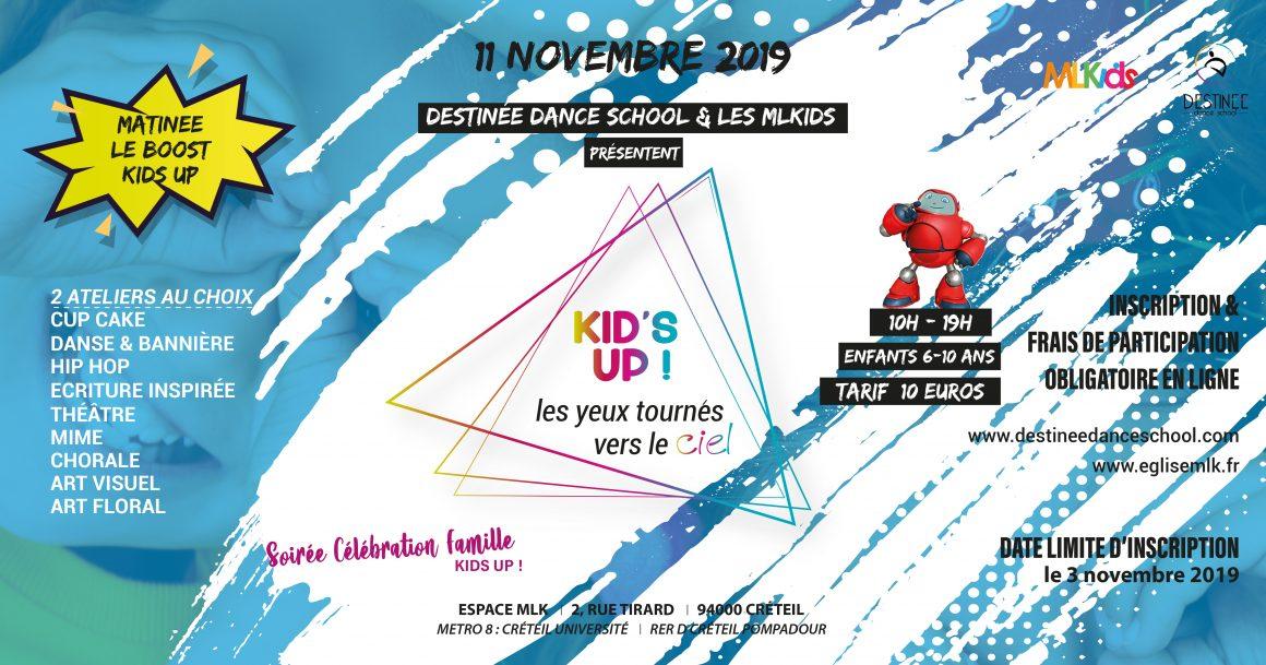 KIDS UP ! Les Yeux tournées vers le ciel !  Le 11 novembre
