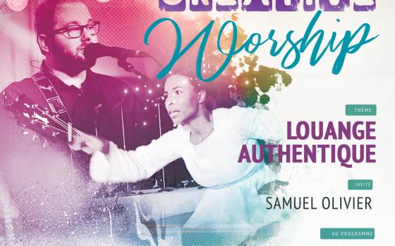SOIREE CREATIVE WORSHIP, Louange AUTHENTIQUE