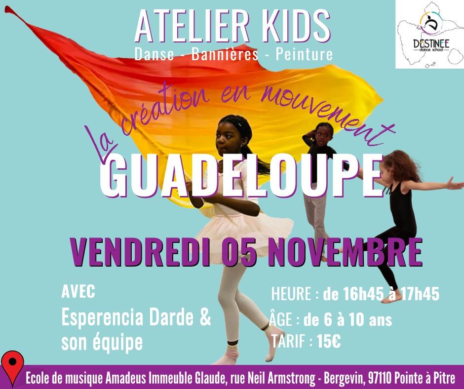 Atelier kids guadeloupe